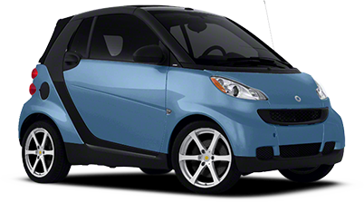 Custom Smart Fortwo Pure Wheels